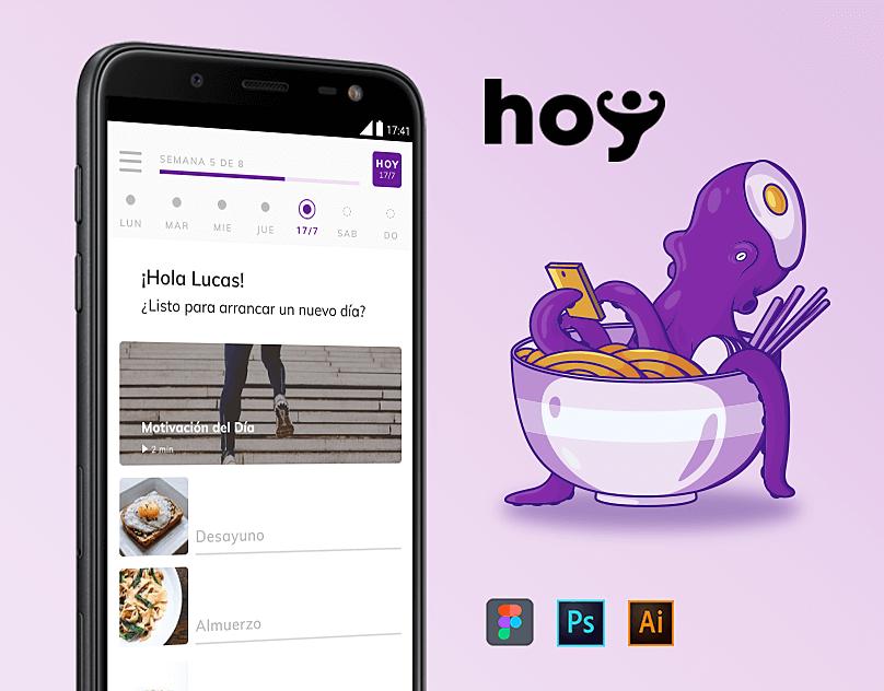 Hoy. UX / UI Design.
