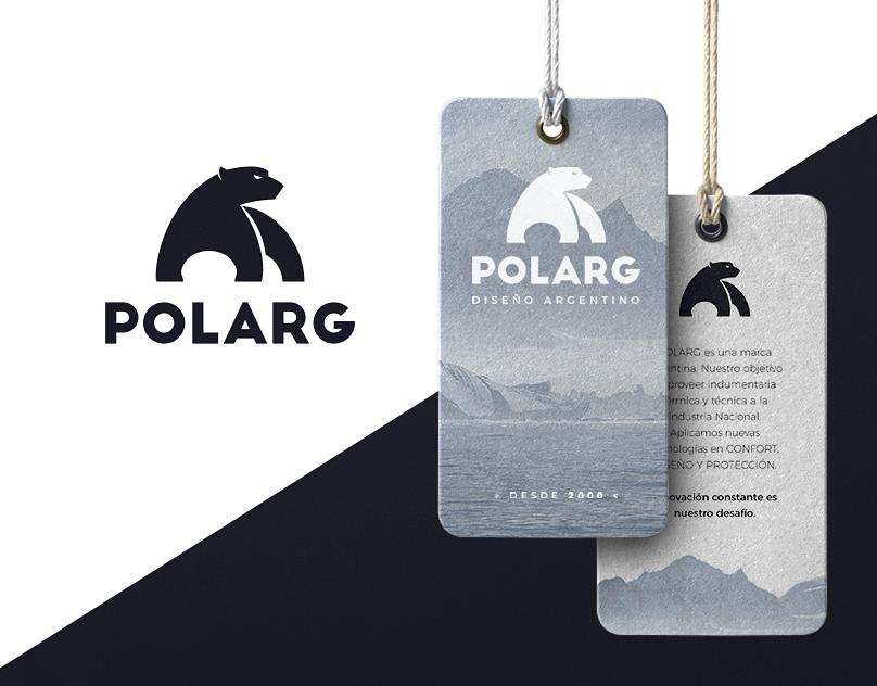 Polarg. Logo Design & Branding.